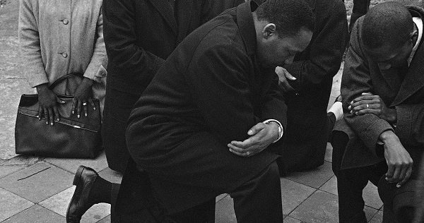 MLK Taking a Knee