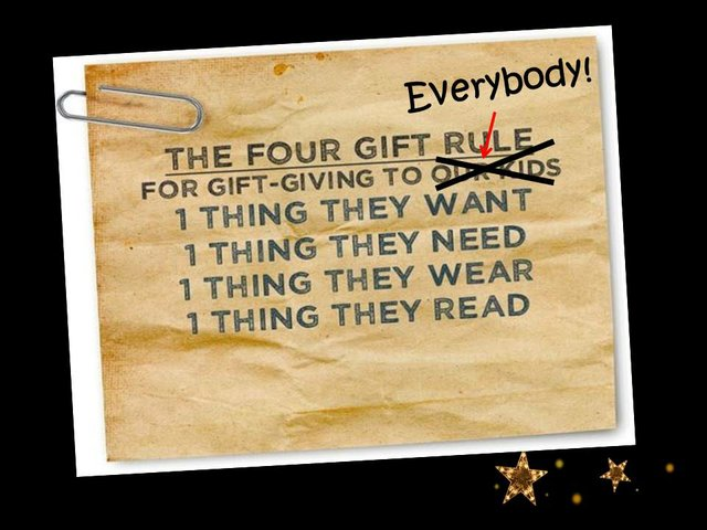 Four Rules of Giving