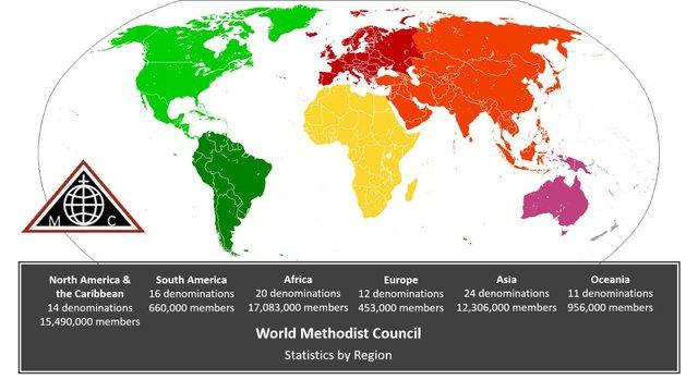 WMC Membership by Continent
