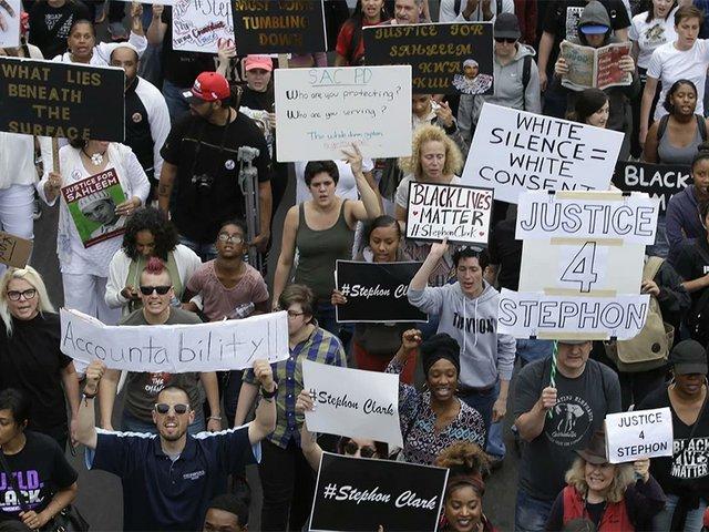 Sacramento Protest