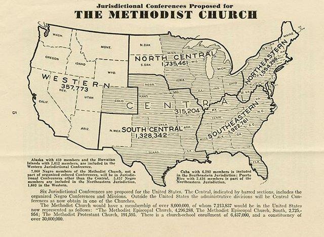 Central Jurisdiction Map