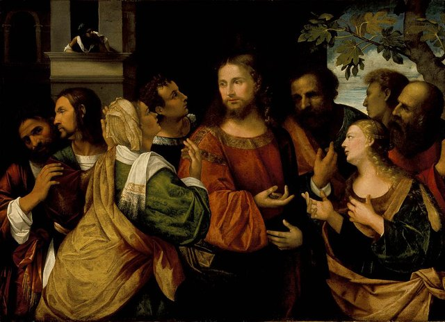 Christ and the Women of Canaan