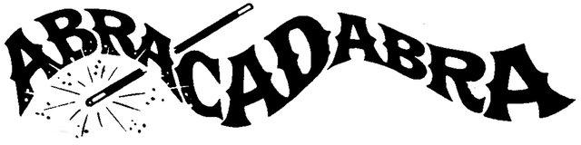Abracadabra clipart