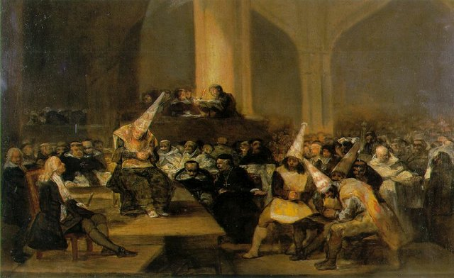 Scene from an Inquisition