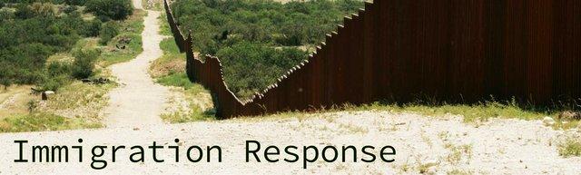Immigration Response Banner