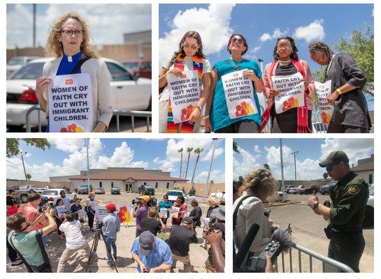 Women of Faith Border Collage