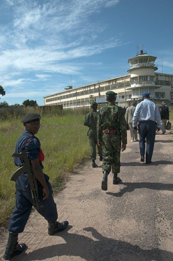 Escort in DR Congo