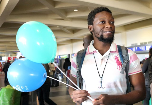 Missionary Arrival Balloons