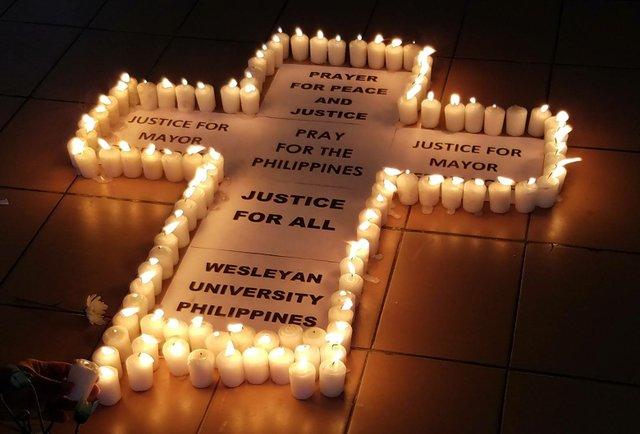 Slain Mayor Vigil