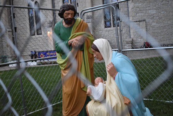 Holy Family Detained