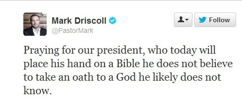 Mark Driscoll Tweet