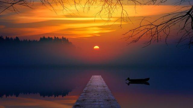Sun at Horizon