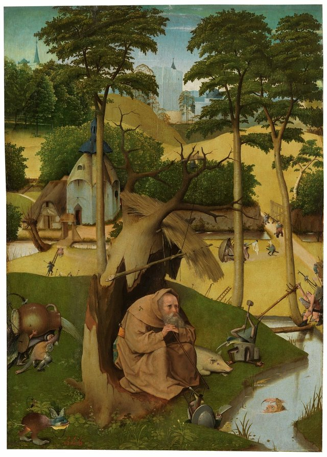 St. Anthony Living with Demons