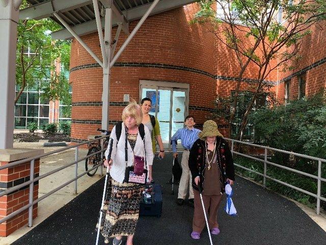 Participants Arrive