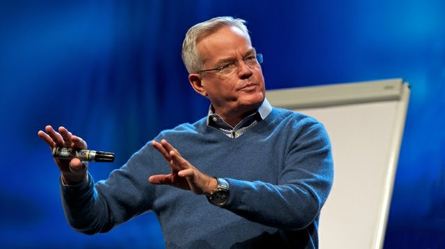 Hybels with Sharpie