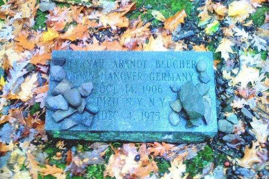 Hannah Arendt's Gravestone