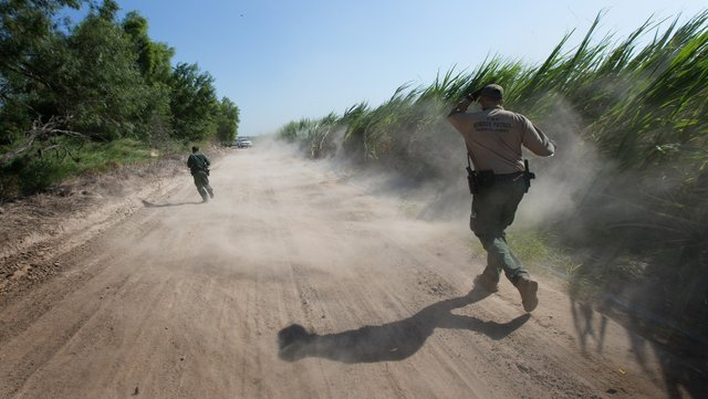 Paths Collide for Immigrants, Border Agents