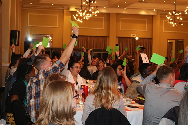 GYPC Delegates Vote