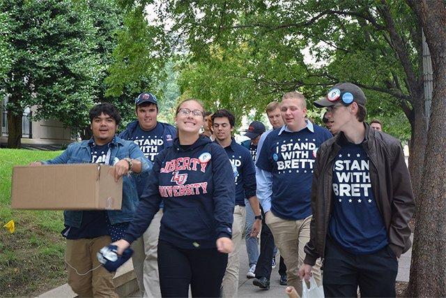 Liberty U. Students