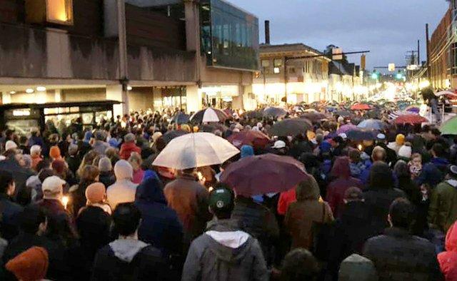 Pittsburgh Vigil