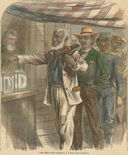 First Black Voters