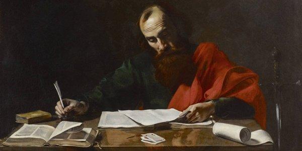 St. Paul Writing His Epistles