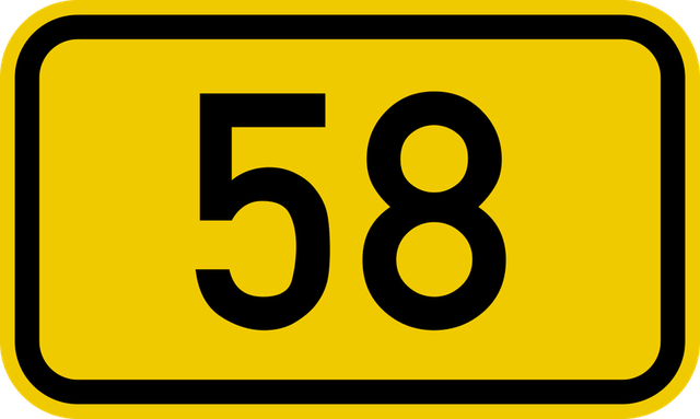 58 Sign