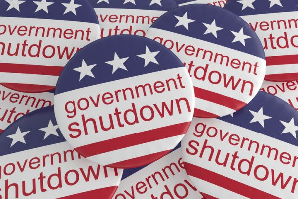 Shutdown graphic