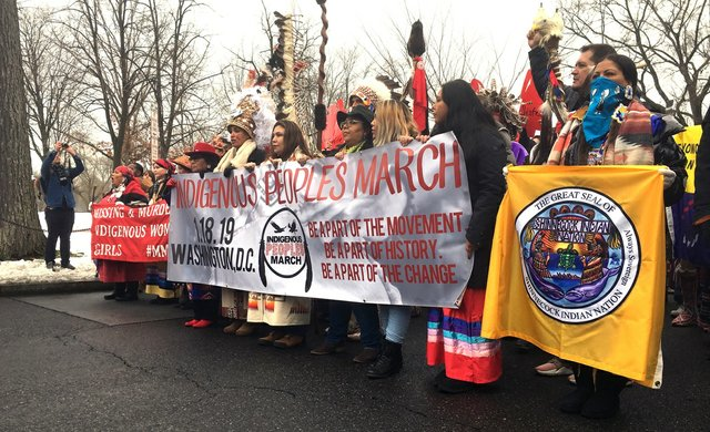 Indigenous People's March 1
