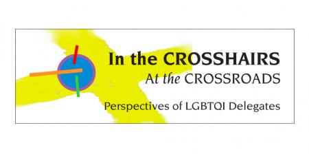 Queer delegates logo