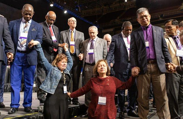 Prayer with Bishops