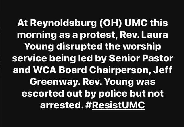 Reynoldsburg Protest