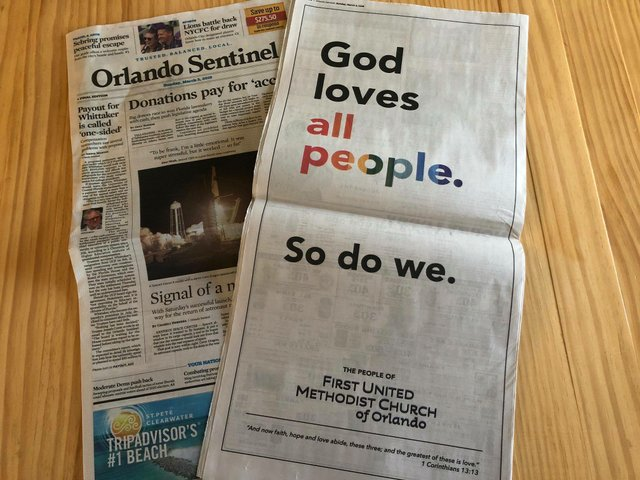 First UMC Orlando ad
