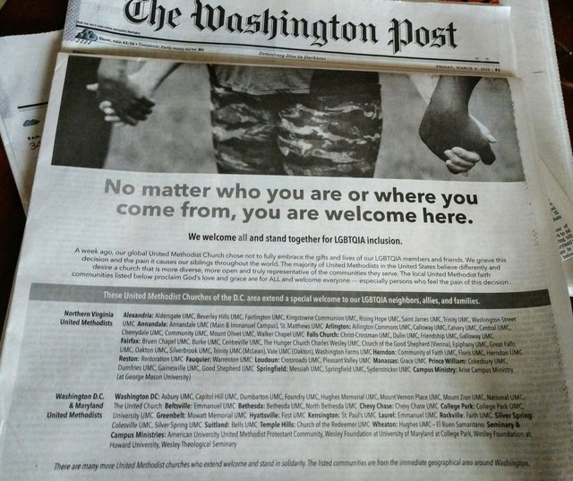 Washington Post ad