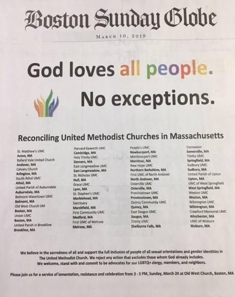 Boston Globe Ad