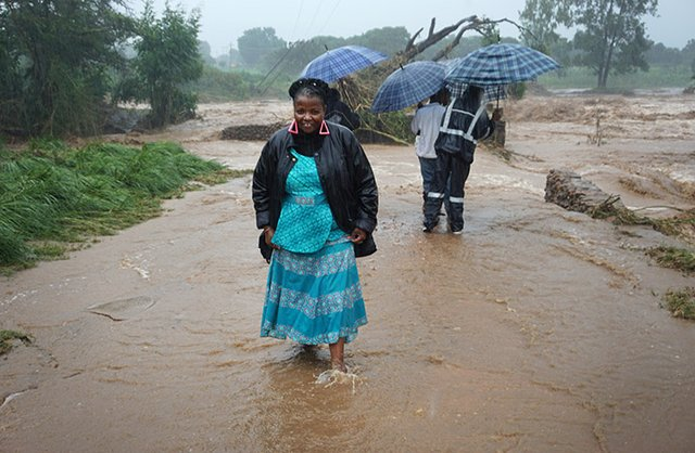 Mozam flooding