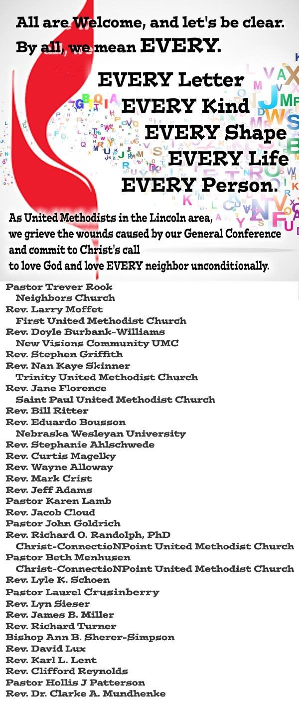 Lincoln, NB statement