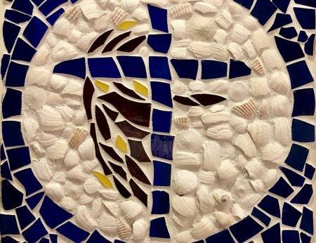Shells art close-up