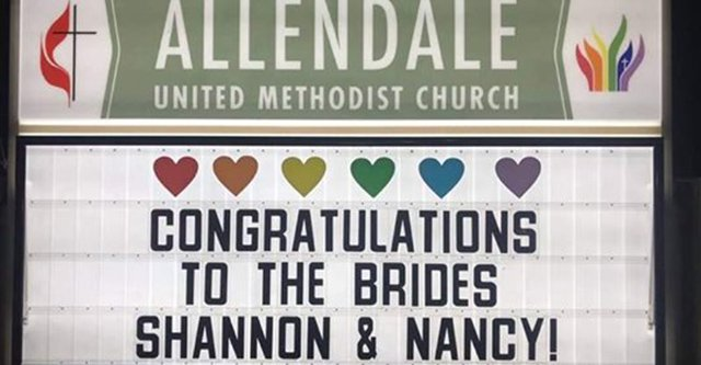 Allendale same-sex wedding