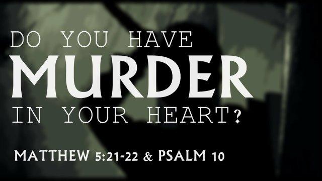 Murder in Your Heart