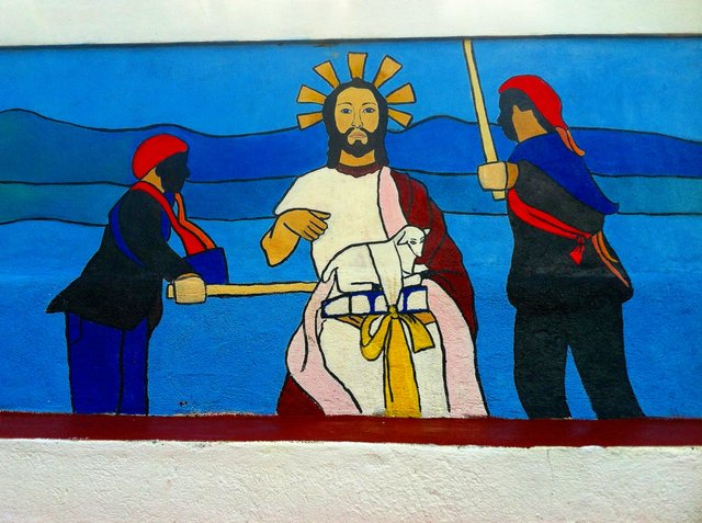 Jesus Beaten by Soldiers