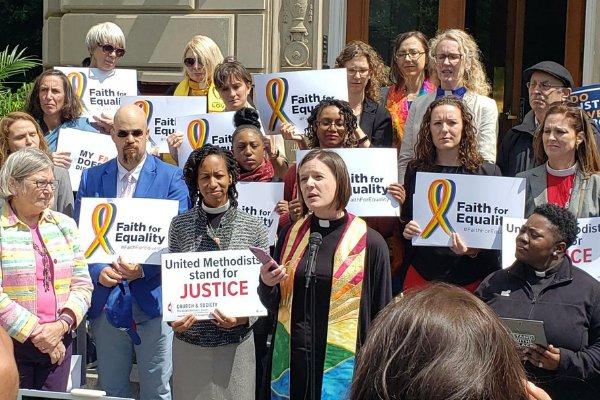 Multifaith LGBTQ Demonstration