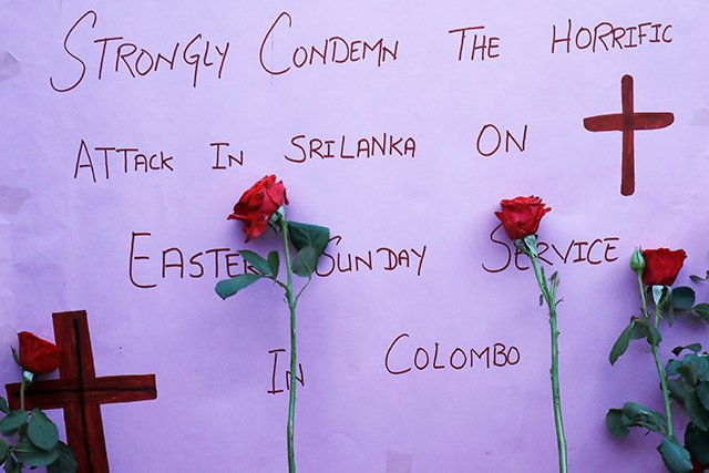 Condemn Sri Lanka Attacks