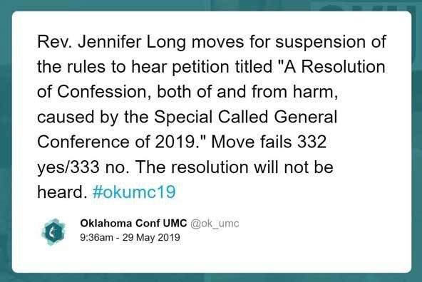 Oklahoma Apology