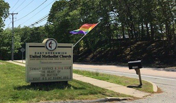 East Greenwich Rainbow Flag