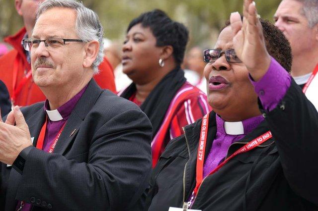 Bishops at Unity Rally