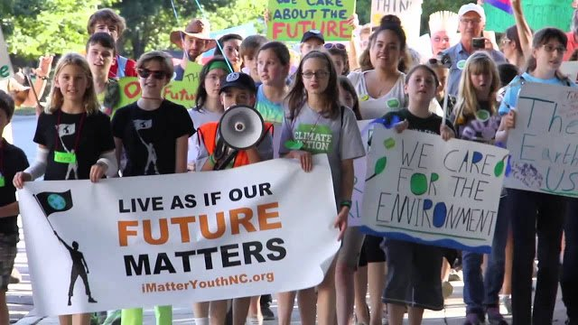 Kids Protest for Earth