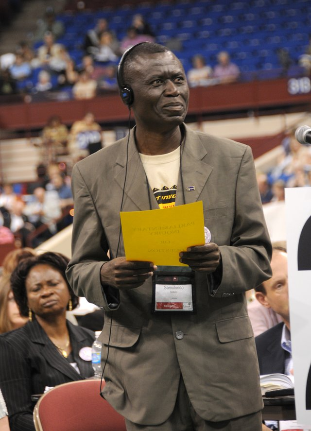 International Delegate