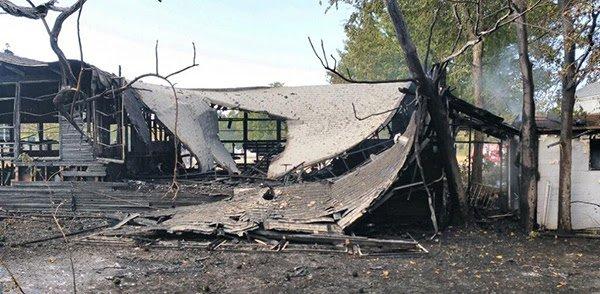 Wheatland UMC Fire