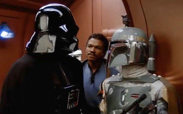 Darth and Lando